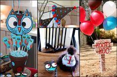 owl birthday party ideas