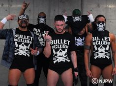 New Japan Pro-Wrestling Bullet Club Bone Soldier Bandana