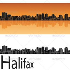 Halifax Skyline in Orange Background  #GraphicRiver         Halifax skyline in orange background in editable vector file     Created: 24April13 GraphicsFilesIncluded: LayeredPNG #JPGImage #VectorEPS Layered: No MinimumAdobeCSVersion: CS Tags: Halifax #NovaScotia #architecture #backgrounds #black #building #canada #city #cityscape #destination #downtown #horizon #illustration #isolated #landmark #landscape #metropolis #orange #outline #panorama #place #reflected #silhouette #skyline…