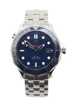 in stock now! OMEGA Seamaster 300m Chronometer - Blue Dial £2,155.00   RRP £2,770.00