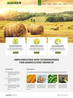 #Agriculture Company #ResponsiveDesign #Joomla Theme $75