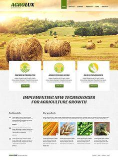 #Agriculture Company #ResponsiveDesign #Joomla Theme $75