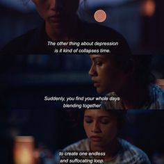 Tv Show Quotes, Film Quotes, Book Quotes, Pretty Words, Beautiful Words, Zendaya Coleman, Film Books, Quote Aesthetic, How I Feel