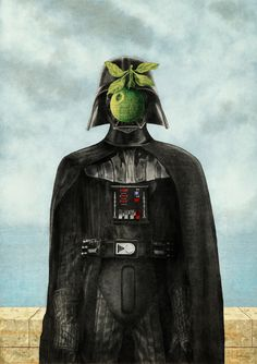 "Son of a sith (magritte ""son of a man"" parody)"