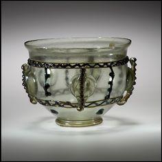 Glass Bowl Date: 375–425 Culture: Late Roman Medium: Glass (greenish)… ROMAN  ANTIQUITIES  : More At FOSTERGINGER @ Pinterest