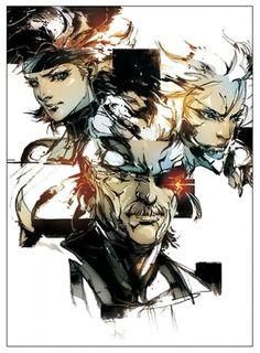 metal gear solid concept art   Metal Gear Solid 4: Guns of the Patriots Concept…