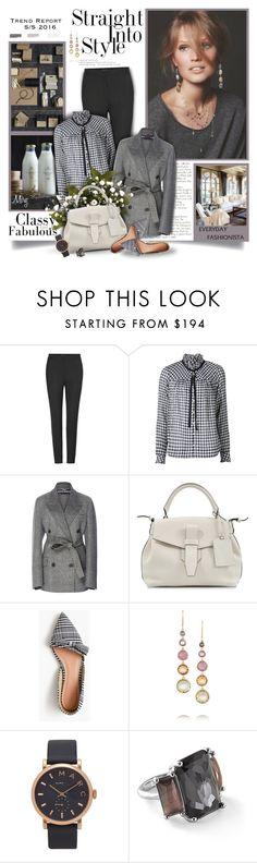 """Everyday Fashionista"" by thewondersoffashion ❤ liked on Polyvore featuring Dolce&Gabbana, Sea, New York, Rochas, Lancel, J.Crew, Ippolita and Marc Jacobs"