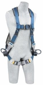 The ExoFit NEX Wind Energy Construction Style Harness is a good choice. It features front, back and side d-rings with a sewn-in hip pad and body belt, and yet still weighs only 6 lbs. The ExoFit NEX 5-point Wind Energy Harness has front, back and side d-rings, and weighs just 4 lbs.