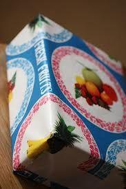 フルーツ包装紙