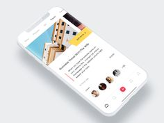 The series of UI Design Inspiration where you can take a look at the best UI design around the world to get inspiration for your next projects. Interaktives Design, Best Ui Design, Icon Design, Graphic Design, Radio Design, Flat Design Icons, Ui Design Inspiration, Creative Inspiration, Mobile Ui Design