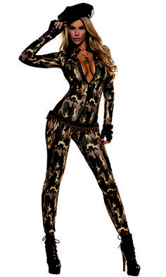 Costume Naughty Girl Taglia 5//7 Anni
