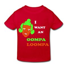 OOMPA LOOMPA toddler T | in2ition ~ 837
