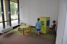Interactive kids corner in a municipal office