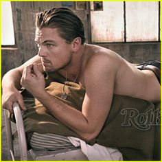 Leo DiCaprio: Shirtless for Rolling Stone! Leonardo DiCaprio goes shirtless in the latest sexy cover shoot for Rolling Stone, on stands today. Here are some choice quotes from the Inception… Hot Actors, Actors & Actresses, Hottest Actors, Leonardo Dicaprio Shirtless, Leo Love, Beautiful Men, Beautiful People, Amazing People, Rolling Stones