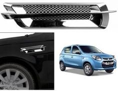 Maruti Suzuki Alto 800 Car Air Flow Side Vent Exterior Duct Set of 2 ( Type ) Maruti Suzuki Alto, Car Body Cover, Police Lights, Reverse Parking, Car Seat Cushion, Wooden Car, Roof Light, Old Cars, Car Accessories