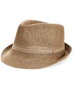 Levi's Straw Fedora Hat - Hats, Gloves & Scarves