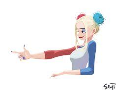 Pinup Arena • sanjiseo: Harley Quinn doodle