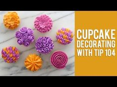 Buttercream Piping Tips & Techniques | Cupcake Jemma - YouTube