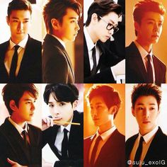 Super Junior (Siwon, Sungmin, Eunhyuk, Donghae, Kyuhyun, Ryeowook, Zhou Mi, Henry