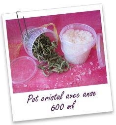 Pot cristal avec anse 600 ml Aroma-Zone
