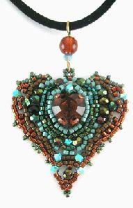 pendentifs perles tissées/pattern