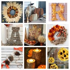 Roundup: 10 Rustic Fall Decor Ideas to DIY