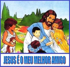 Jesus with children FP (P)
