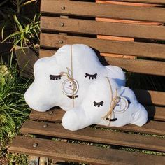 Add a touch of cosiness to the nursery with these adorable handcrafted cloud pillows from Nanna and Shnook. As your child grows they won't want to part from their cute companion, which looks lovely in a child's bedroom as well. Pop Up Market, Cloud Pillow, Kids Bedroom, Your Child, Kids Toys, Nursery, Clouds, Touch, Pillows