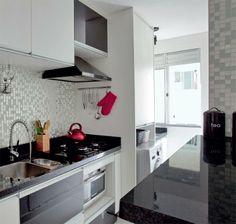 Cozinha com Pastilha de Espelho