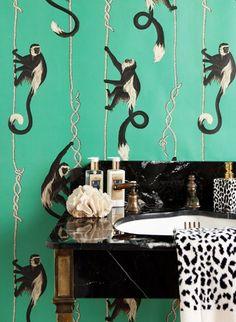 Die 13 Besten Bilder Von Tapeten Fur Badezimmer Wall Papers