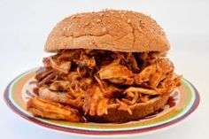 Crockpot Tailgate Recipe: Barbecue Chicken Sandwiches