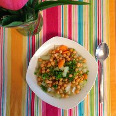 Be Metabolic: Be delicious: Gemüsesuppe mit Kichererbsen