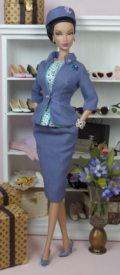 Pastel Periwinkle | Matisse Fashions and Doll Patterns