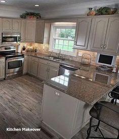 Kitchen Island With Sink, New Kitchen Cabinets, Soapstone Kitchen, Kitchen Countertops, Kitchen Sinks, Kitchen Islands, Laminate Countertops, Kitchen Fixtures, Kitchen Backsplash