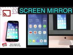 (29) Screen Mirror: Share Phone Screen to Any Computer, Android App, MacOS, Windows PCs - YouTube
