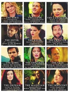 Character types as told by ouat Best Tv Shows, Best Shows Ever, Favorite Tv Shows, My Favorite Things, Once Upon A Time, Emma Swan, True Blood, White Collar, Buffy