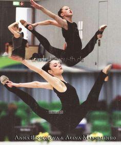 Alina Maksymenko & Anna Bessonova - Rhythmic Gymnastics