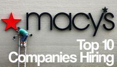 Top 10 Companies Hiring This Week