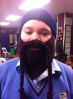 4b8cf39f606 Lumberjack Beard Beanie pattern by The Knit Guru