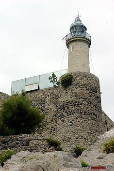 Faro de Castro Urdiales #Cantabria #Spain