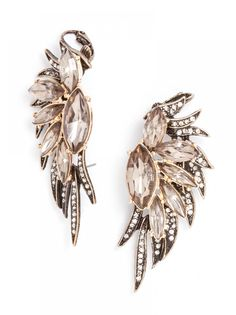 Phoenix Wing Ear Cuffs-Gray. Love these so much