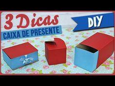 DIY - 3 Dicas de Caixa de Presente | Collab Chai Morais - YouTube