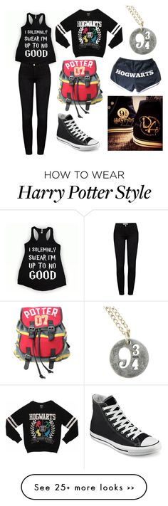 """""""When u be obsessed with Harry Potter"""" by natisa0416 on Polyvore"""