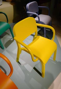 Salone del Mobile 2013: Dumbo chair by Tomek Rygalik for Moroso