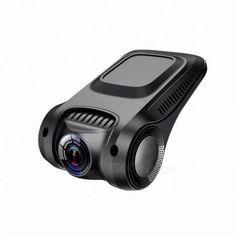 Novatek 96655 Wi-Fi Full HD Car DVR Dashcam Dash Camera without Screen, 170 Degree Video Camera Recorder with Night Vision None/Black Dvr Camera, Video Camera, Types Of Cameras, Dashcam, Hd 1080p, Night Vision, Industrial Design, Futuristic, Wi Fi