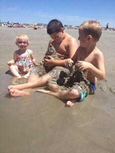 Sunset beach 2014 cousin fun!
