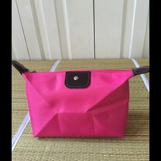 ADORABLE ON TREND COSMETIC BAG  Very chic and affordable way to keep your handbags clean and organized. Great for tech cords and phone as well. Offers/bundles welcome. I have 2 of these. W8XL6.5. Bags Cosmetic Bags & Cases