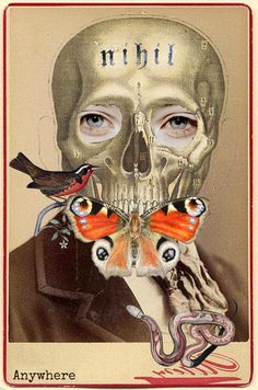 ¤ Walter Strempler art collage. 'Nihil'