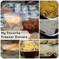 Chicken cordon bleu, tacos, ziti, breakfast casserole and more! Even my five picky eaters LOVE these freezer dinners!