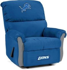 My man needs this in the man cave! Detroit Lions MVP Recliner